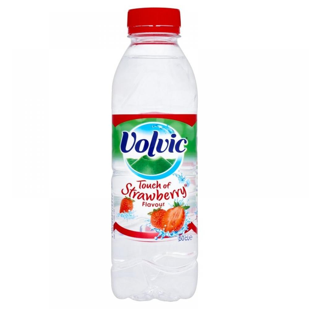 Volvic Touch Of Strawberry Flavour 500ml