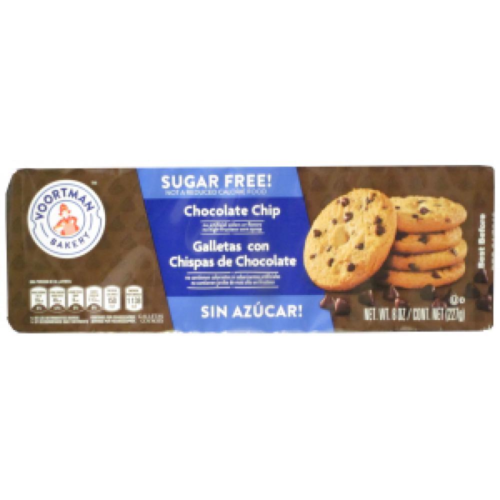 Voortman Sugar Free Chocolate Chip Cookies 227g