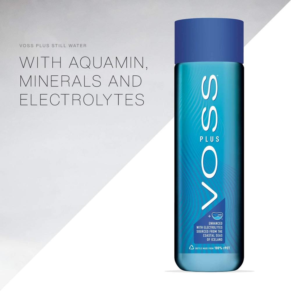 Voss Artesian Still Water with Aquamin Minerals and Electrolytes 500 ml