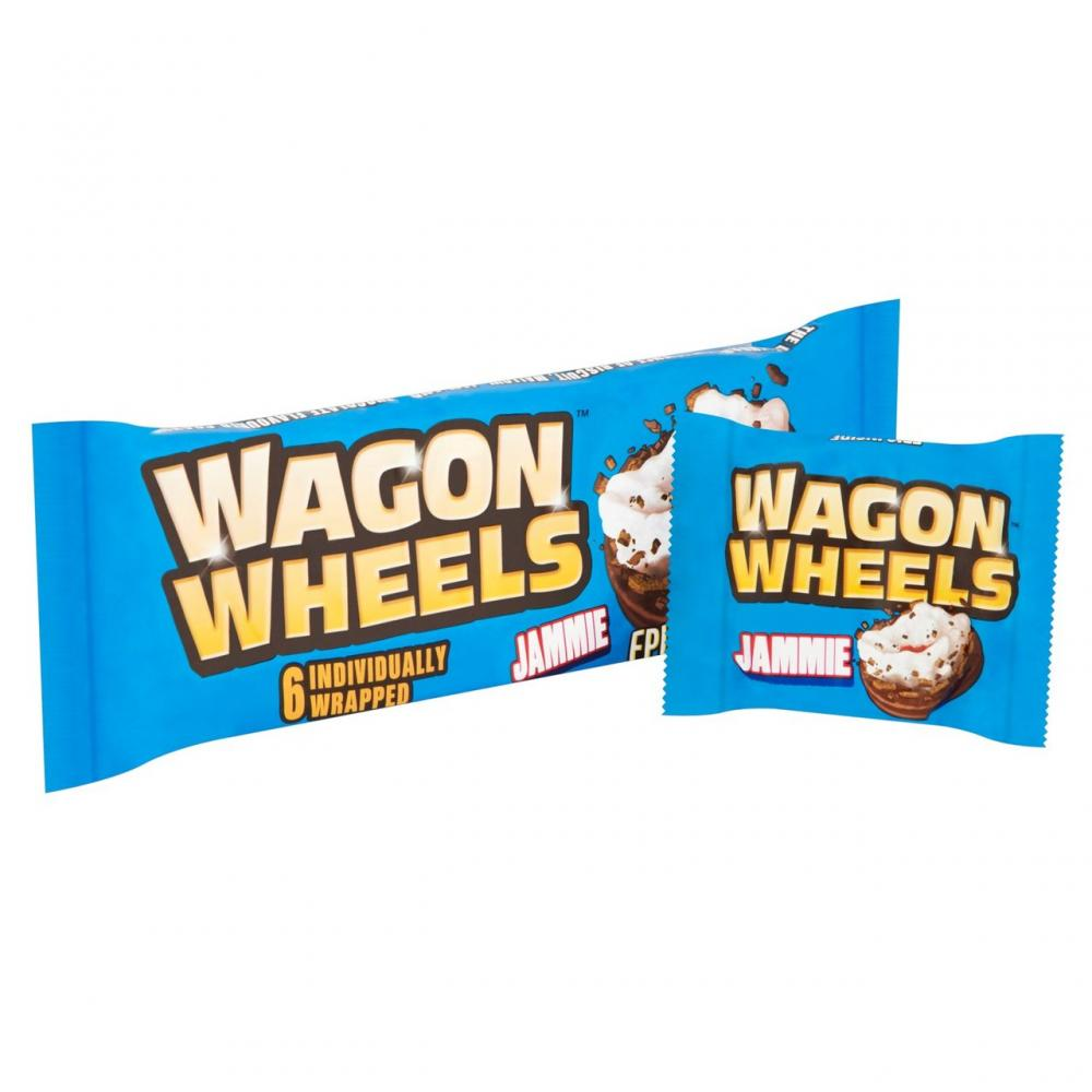 Wagon Wheels Jammie 6 Pack