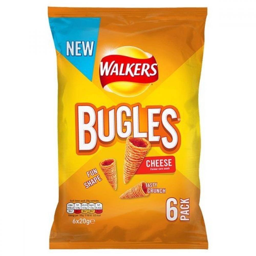 Walkers Bugles Cheese Flavour 20g x 6