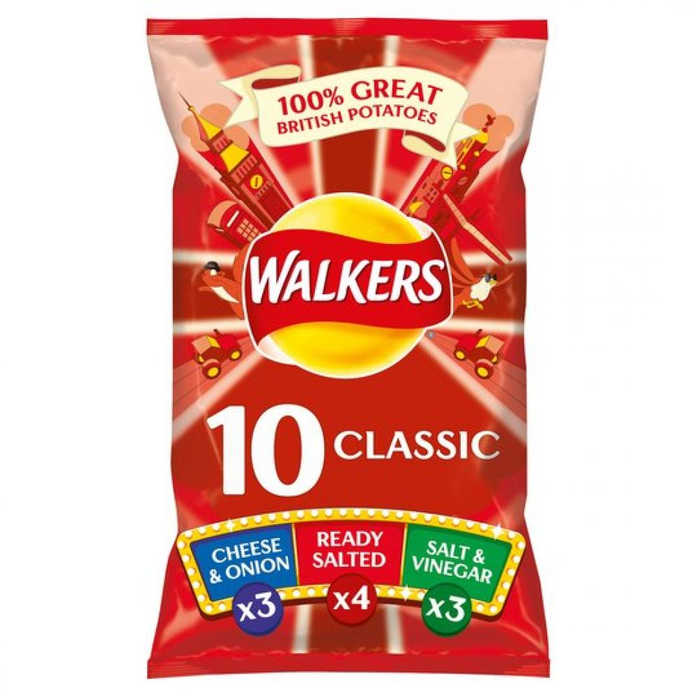 Walkers Classic 10 x 25g