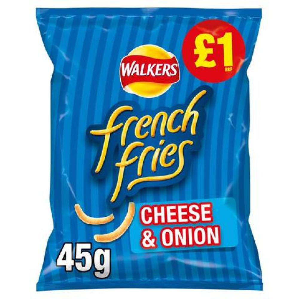Walkers French Fries Cheese and Onion Flavour 45g