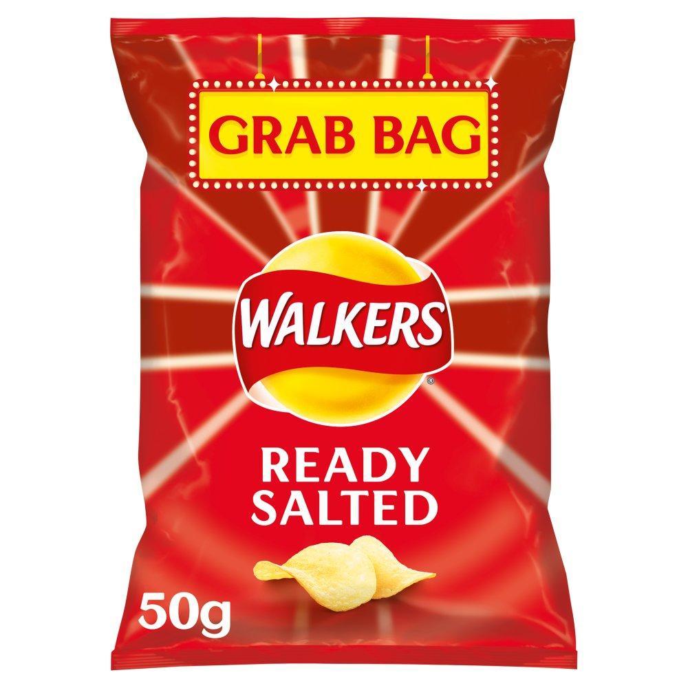 Walkers Grab Bag Ready Salted Crisps 50g