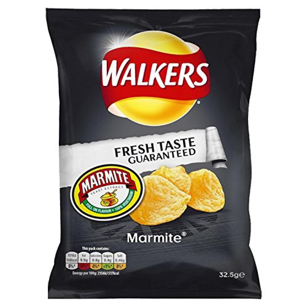 Walkers Marmite Crisp 32.5g