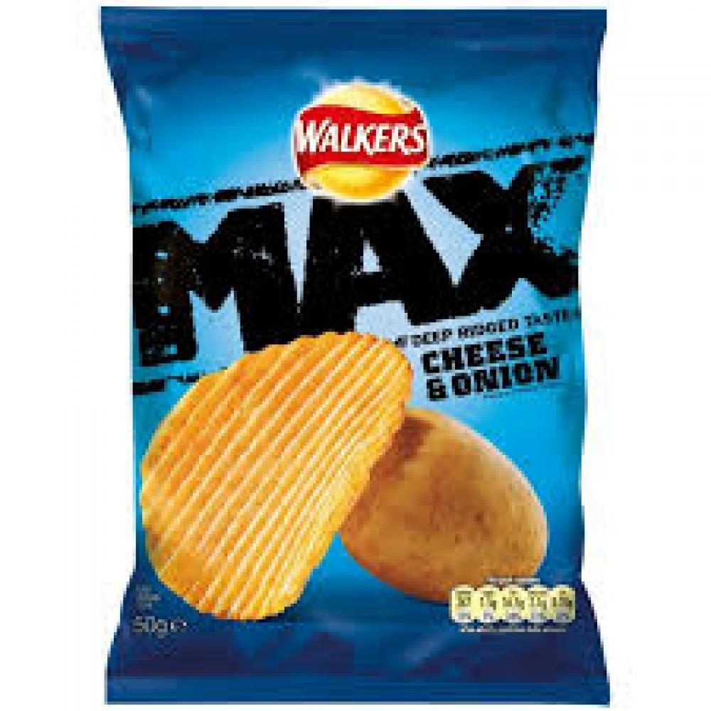 Walkers Max Cheese and Onion 50g