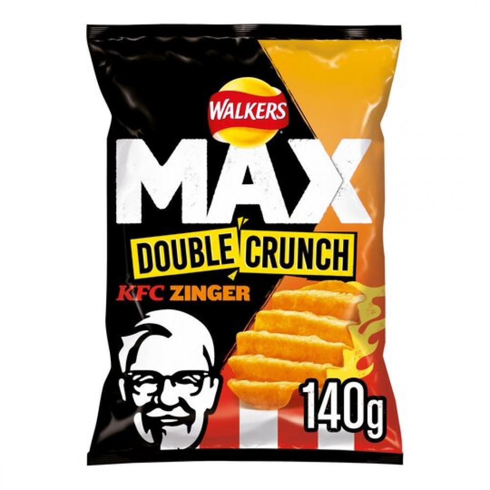 Walkers Max Double Crunch KFC Zinger 140g