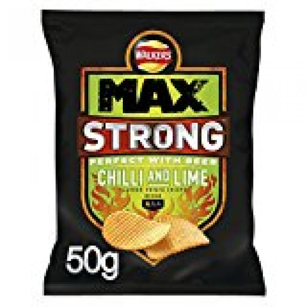 Walkers Max Strong Chilli and Lime 50g