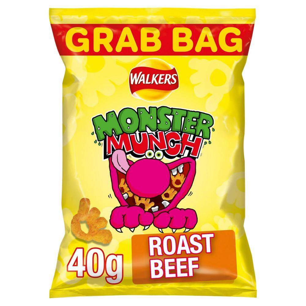 Walkers Monster Munch Roast Beef 40g