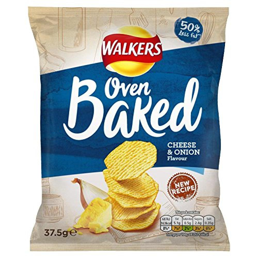 Walkers Oven Baked Cheese and Onion Flavour 37.5g