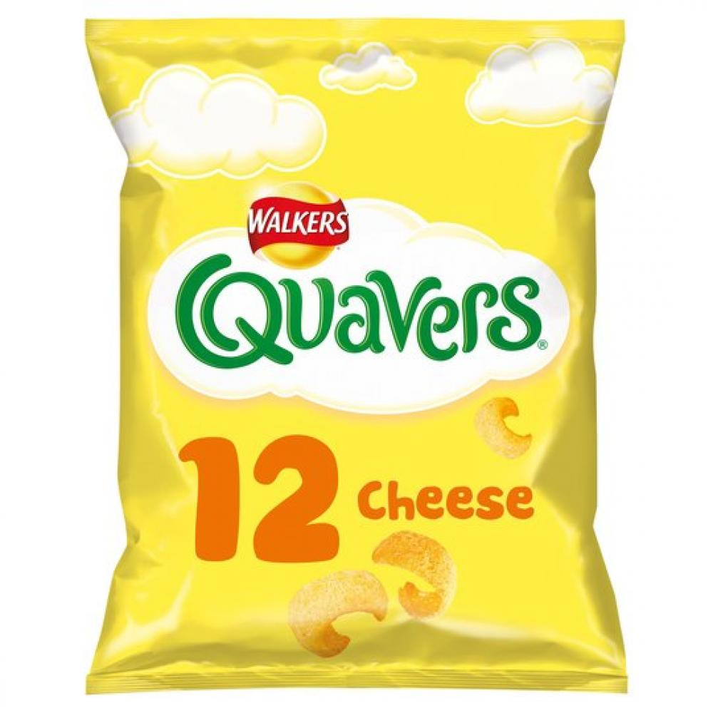Walkers Quavers Cheese Flavour 16g x 12