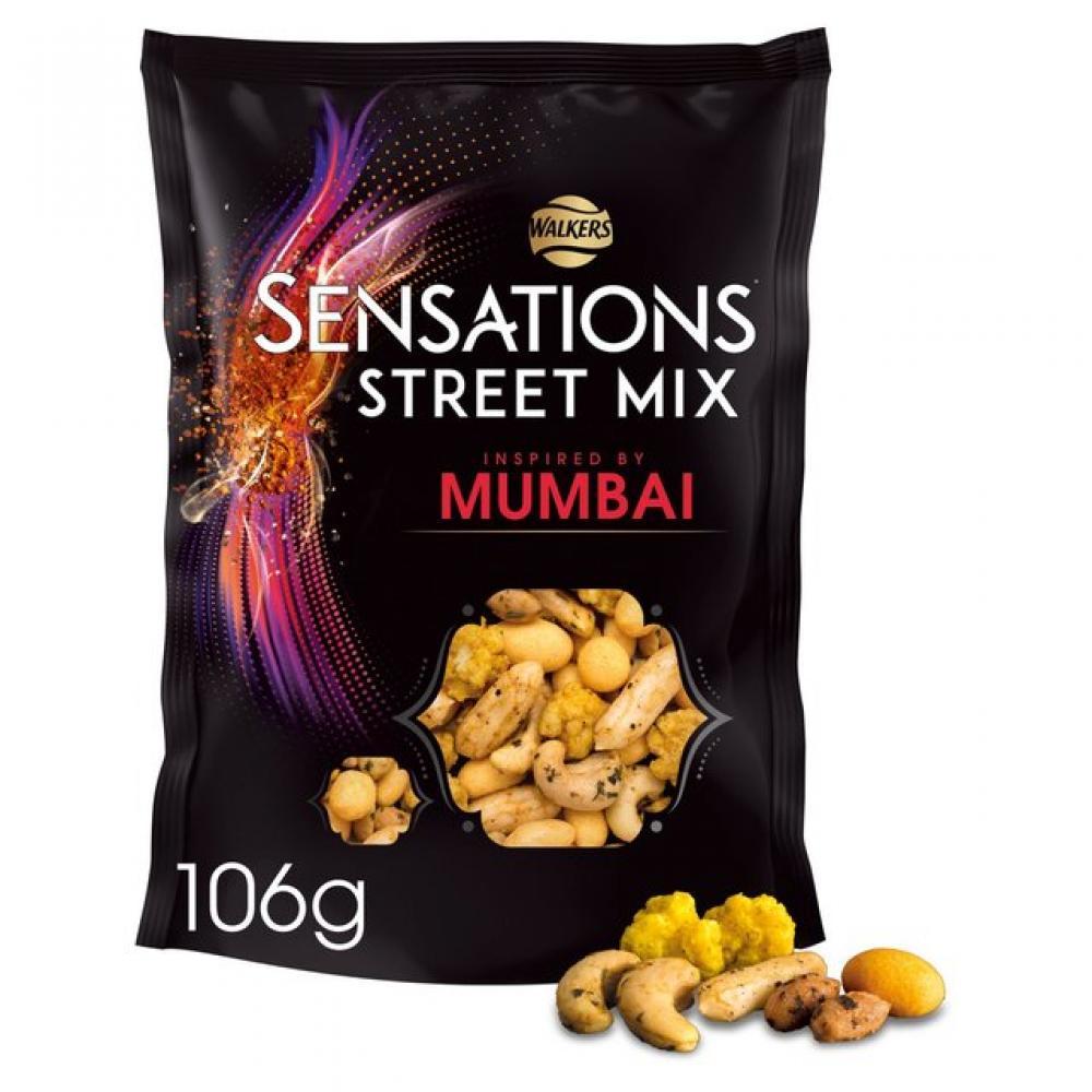 Walkers Sensations Street Mix Mumbai 106g