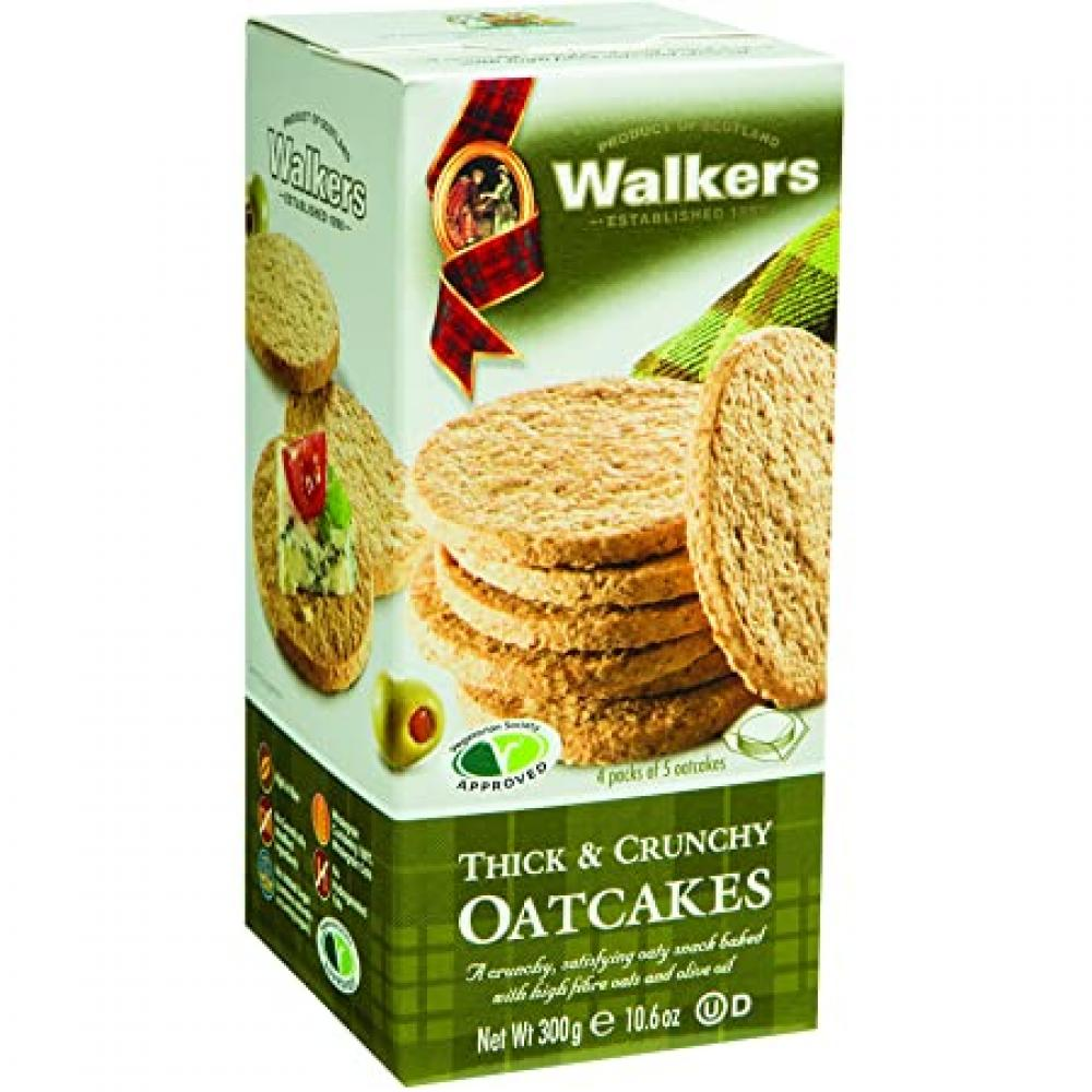 Walkers Thick and Crunchy Oatcakes 300g