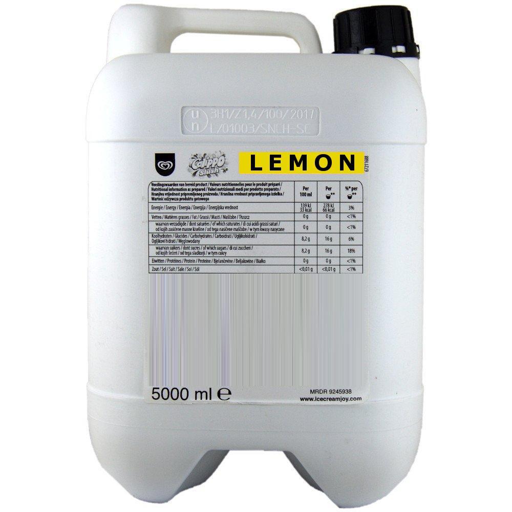 SALE  Walls Calippo Lemon Slush Mix 5l