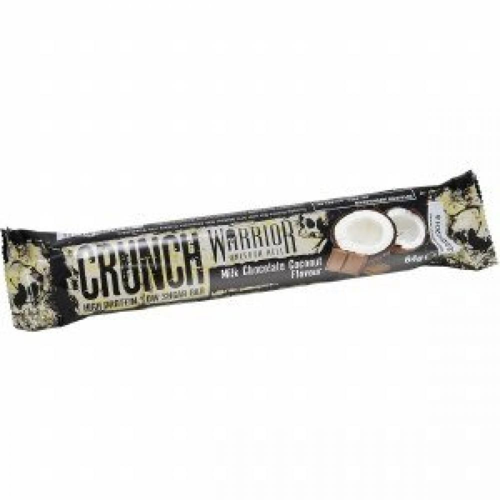 Warrior Crunch High Protein Low Carb Bar Milk Chocolate Coconut 64 g