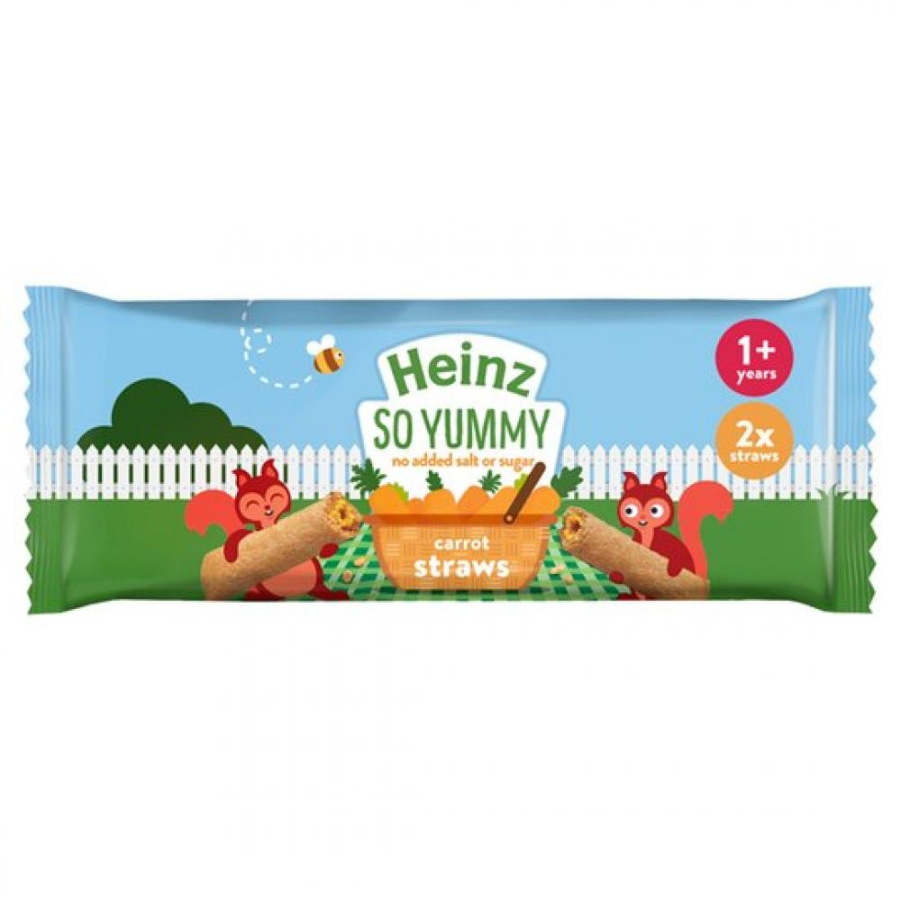 WEEKLY DEAL  Heinz Infant Carrot Straws 15g