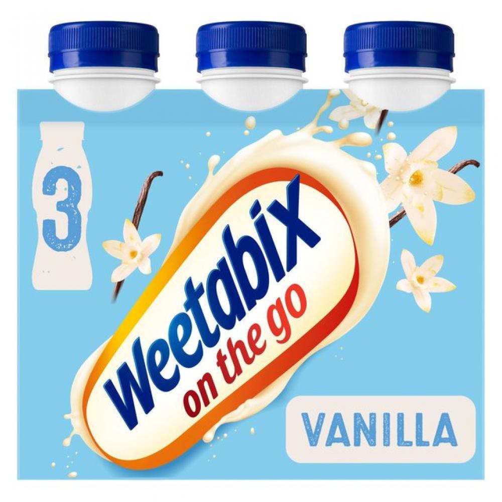 Weetabix On The Go Vanilla 250ml x 3