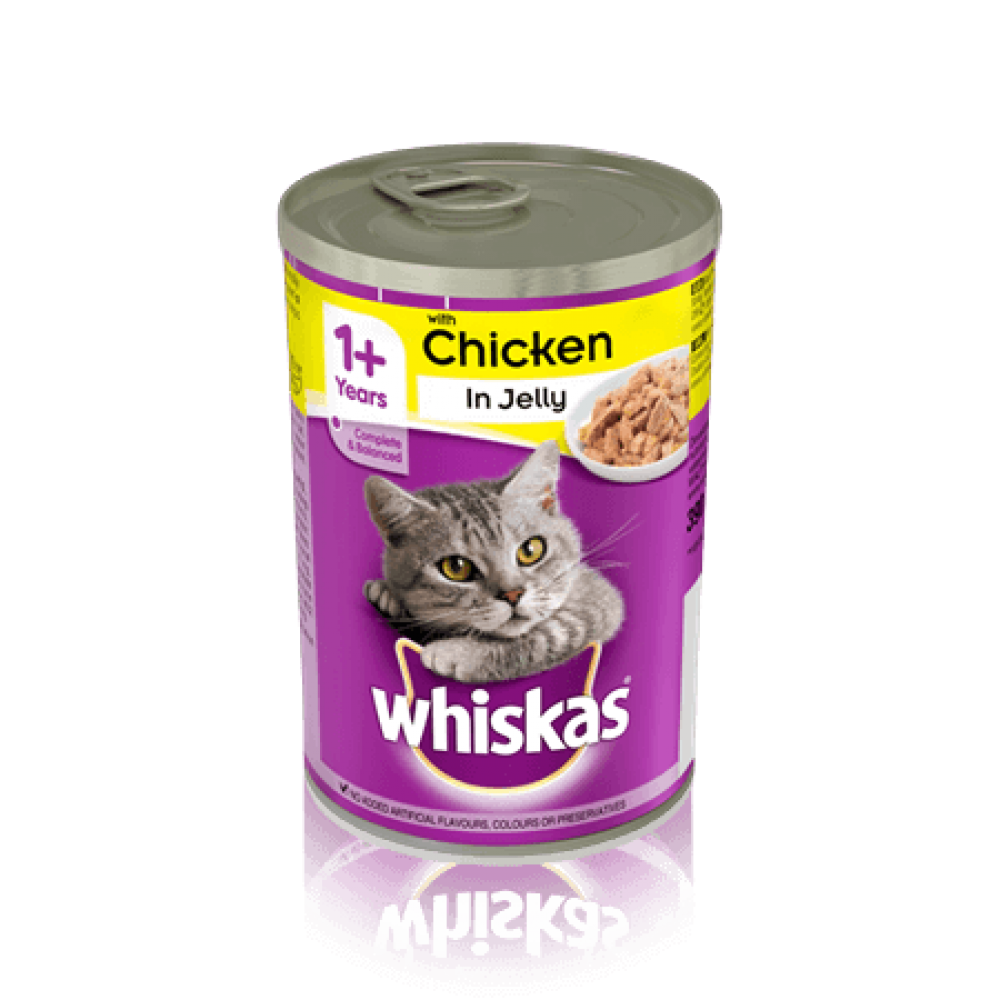 Whiskas Cat Tin Poultry Lucky Dip 390g