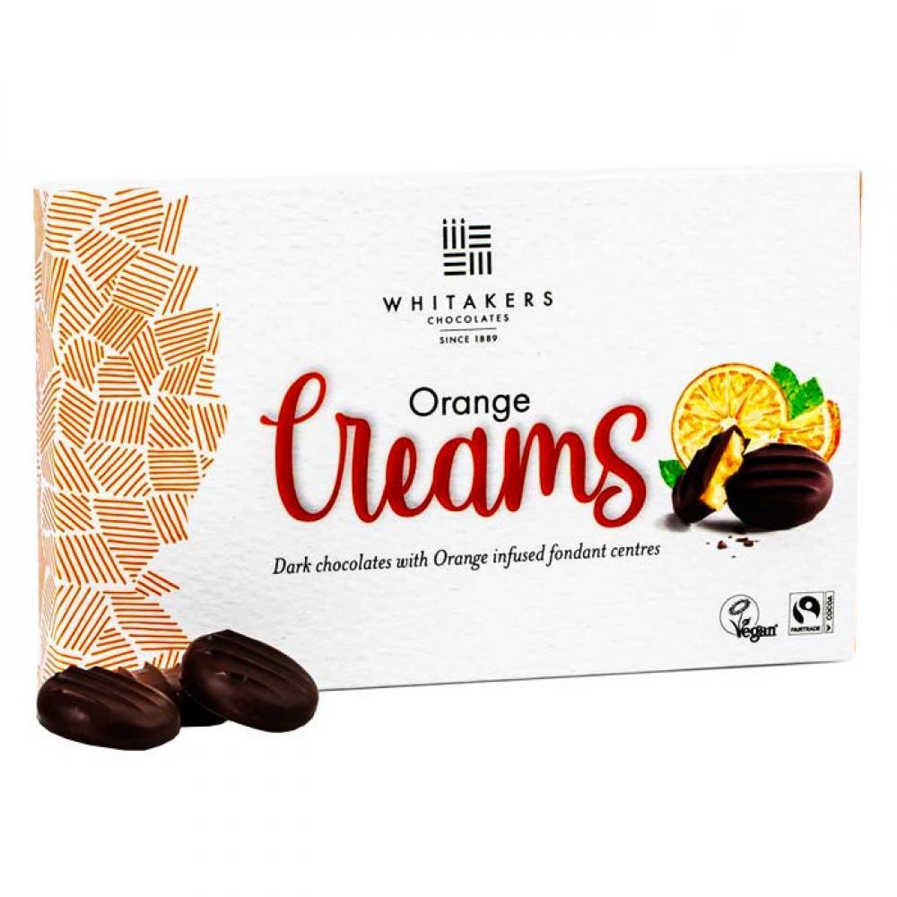 Whitakers Orange Creams 100g