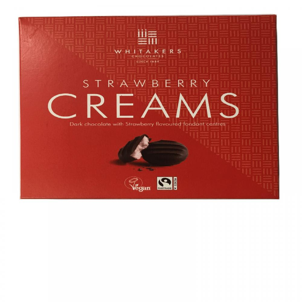 Whitakers Strawberry Creams 100g