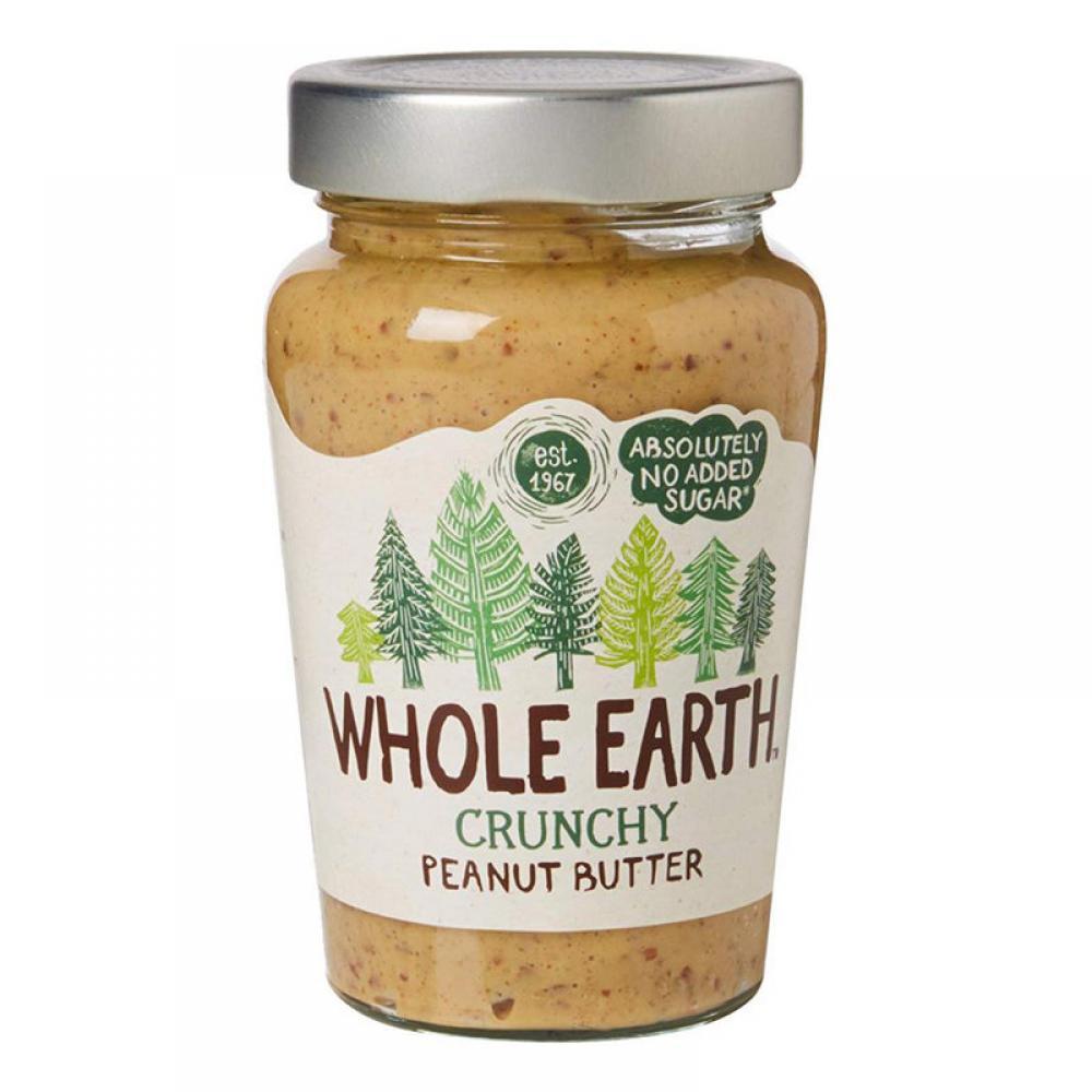 Whole Earth Organic Peanut Butter Crunchy 227g