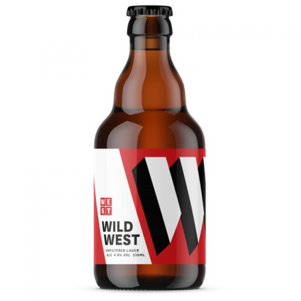 Wild West Lager 330ml
