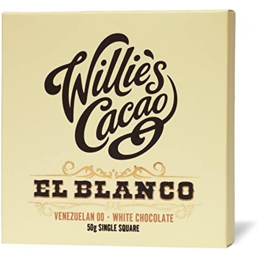 Willies Cacao El Blanco 50g