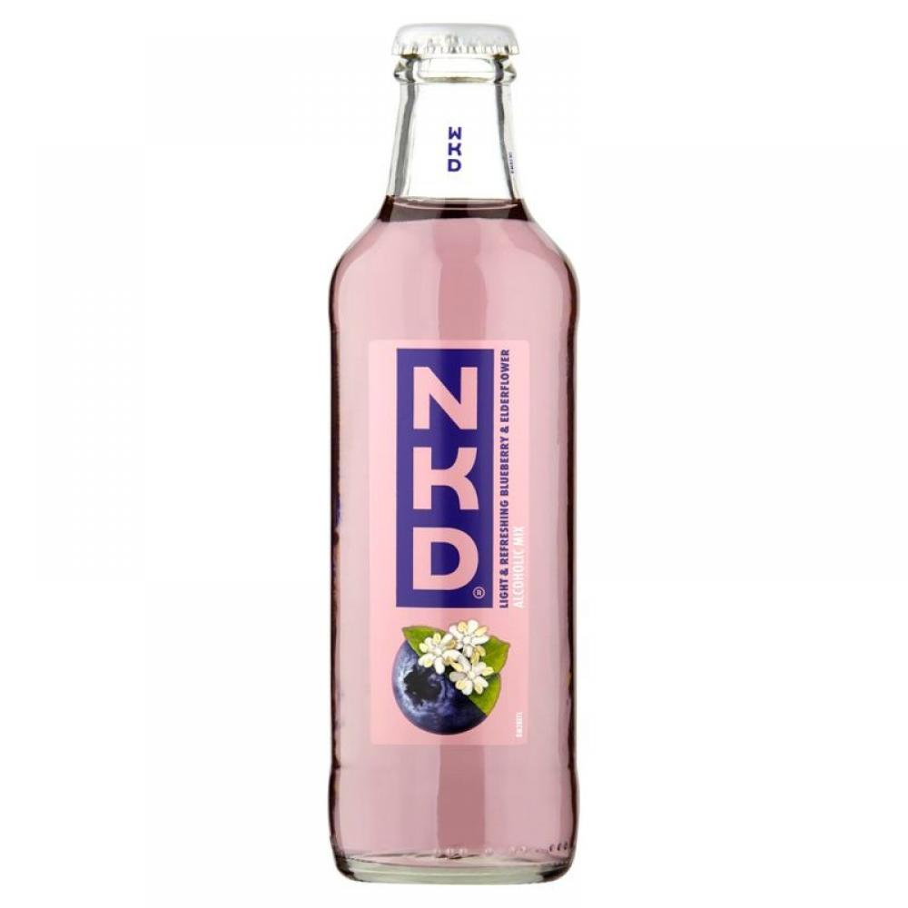 WKD NKD Blueberry and Elderflower 275ml