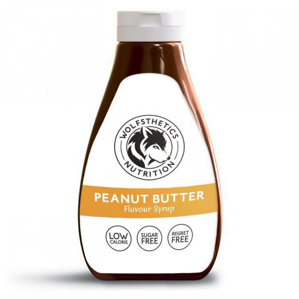 Wolfsthetics Nutrition Peanut Butter Flavour Syrup 425ml