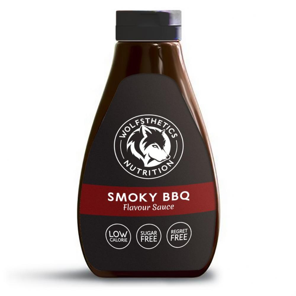 Wolfsthetics Nutrition Smoky BBQ Sauce 425ml