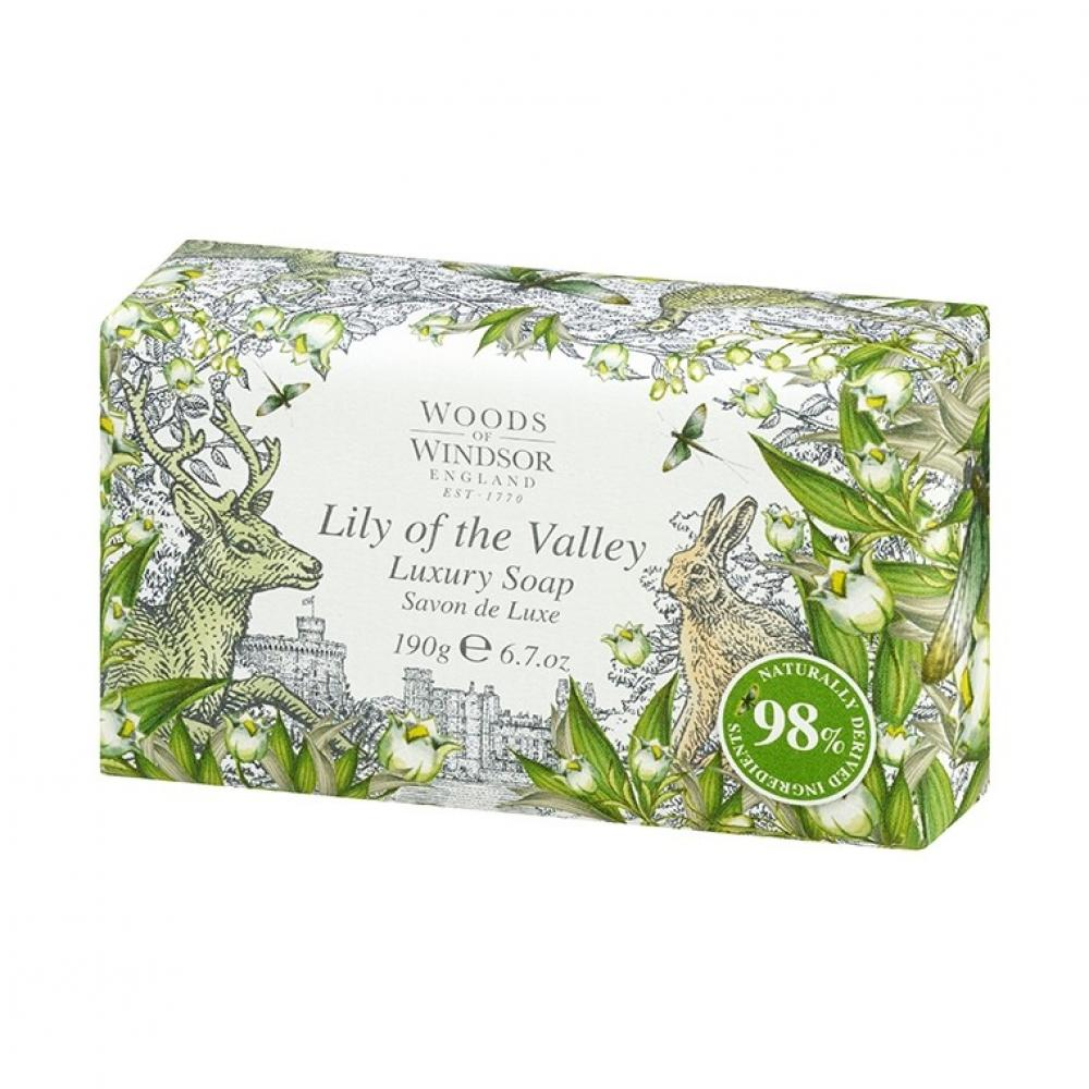 Woods of Windsor Lily of The Valley Luxury Soap 190 g
