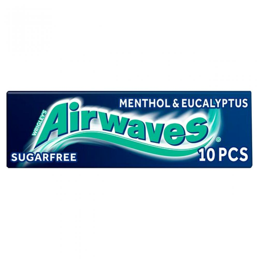 SALE  Wrigleys Airwaves Menthol and Eucalyptus 10 Pellets 14g