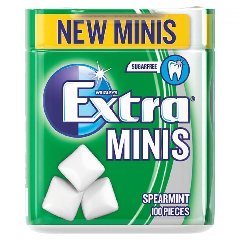 Wrigleys Extra Minis Spearmint 100 pieces