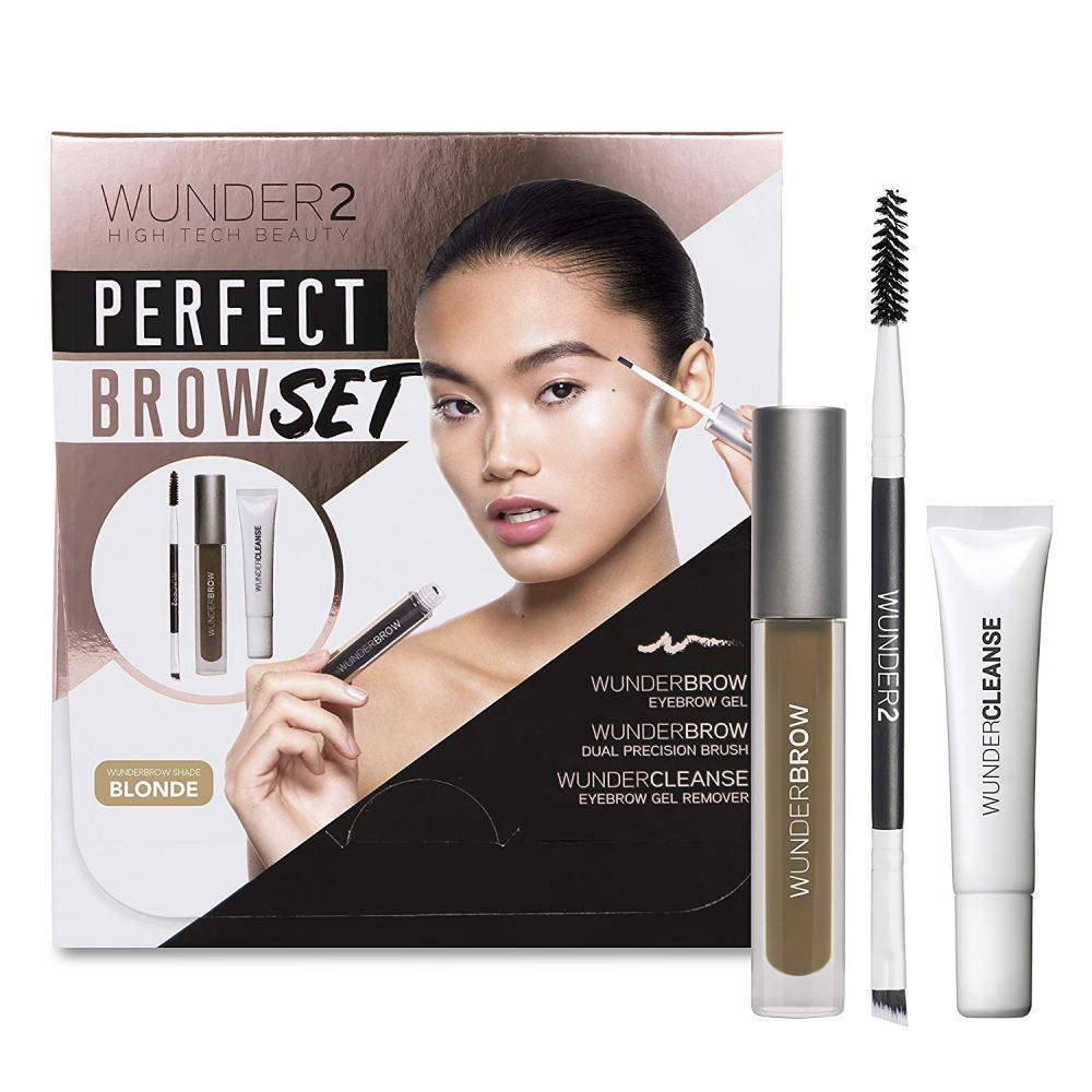WUNDER2 Perfect Brow Set Blonde 3 pcs
