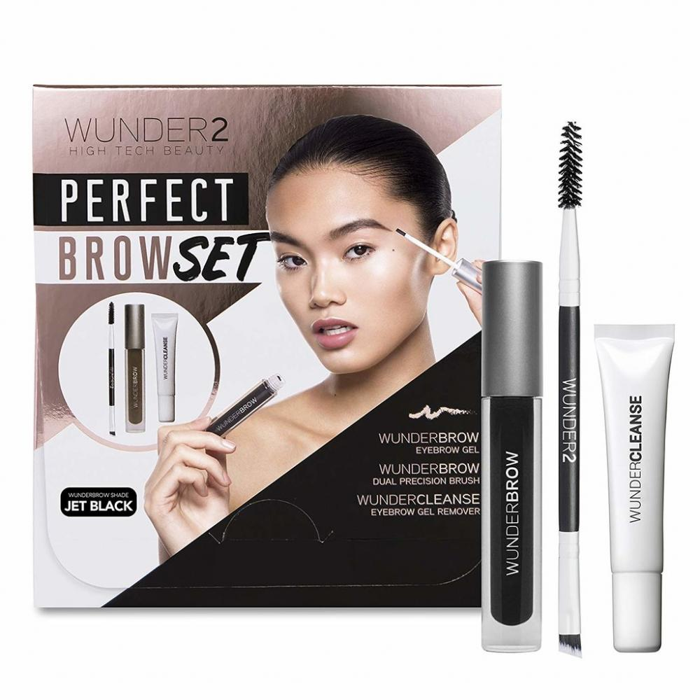 WUNDER2 Perfect Brow Set - Jet Black