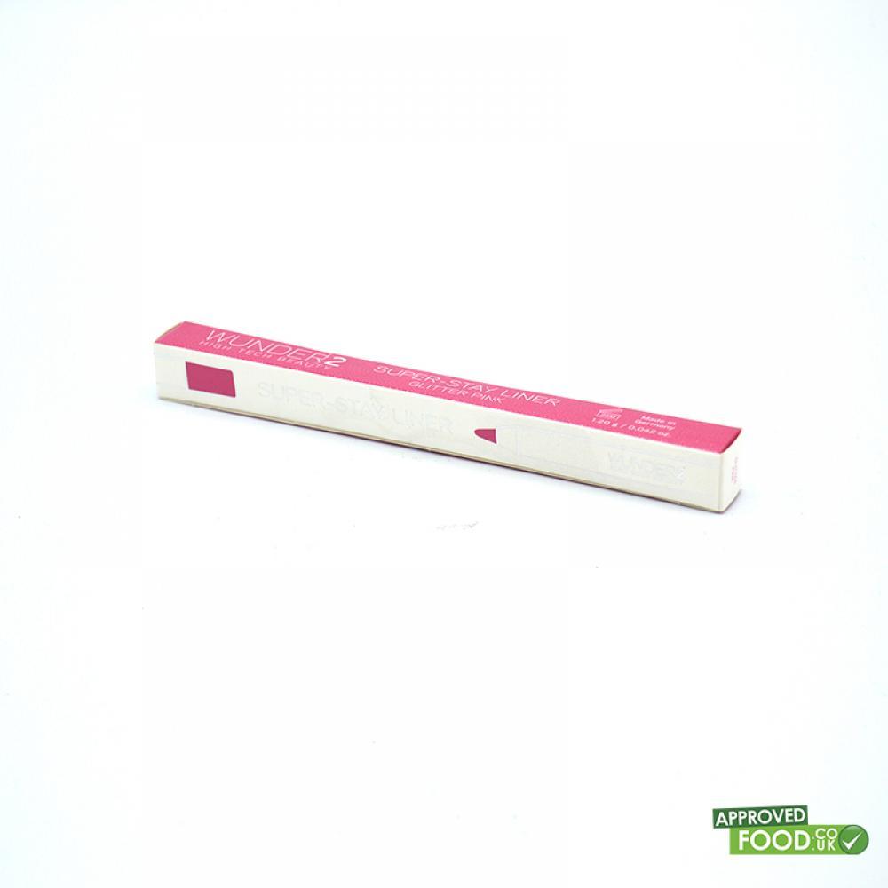WUNDER2 Super Stay Liner Glitter Pink 1.2g