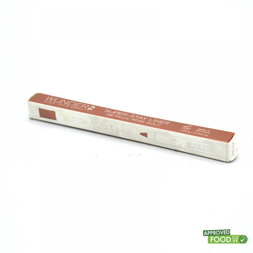 SALE  WUNDER2 Super Stay Liner Metallic Rose Gold 1.2g