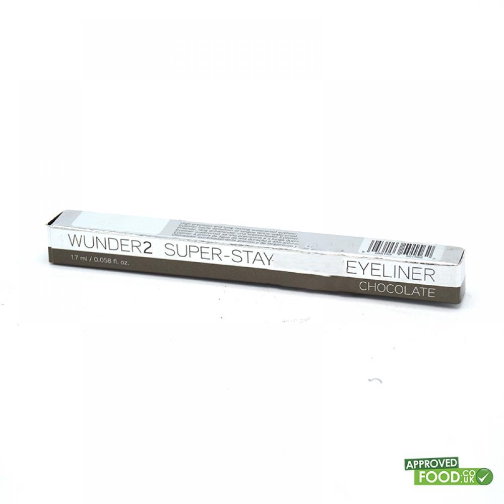 WUNDER2 Super Stay Long Lasting and Waterproof Liquid Eyeliner Glazed Chocolate 1.7ml