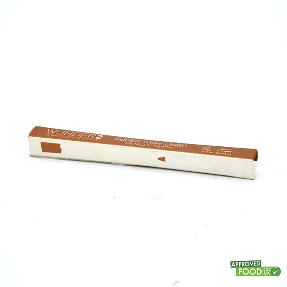 SALE  WUNDER2 Super-Stay Liner Long-Lasting and Waterproof Colored Eyeliner Metallic Peach 1.2g