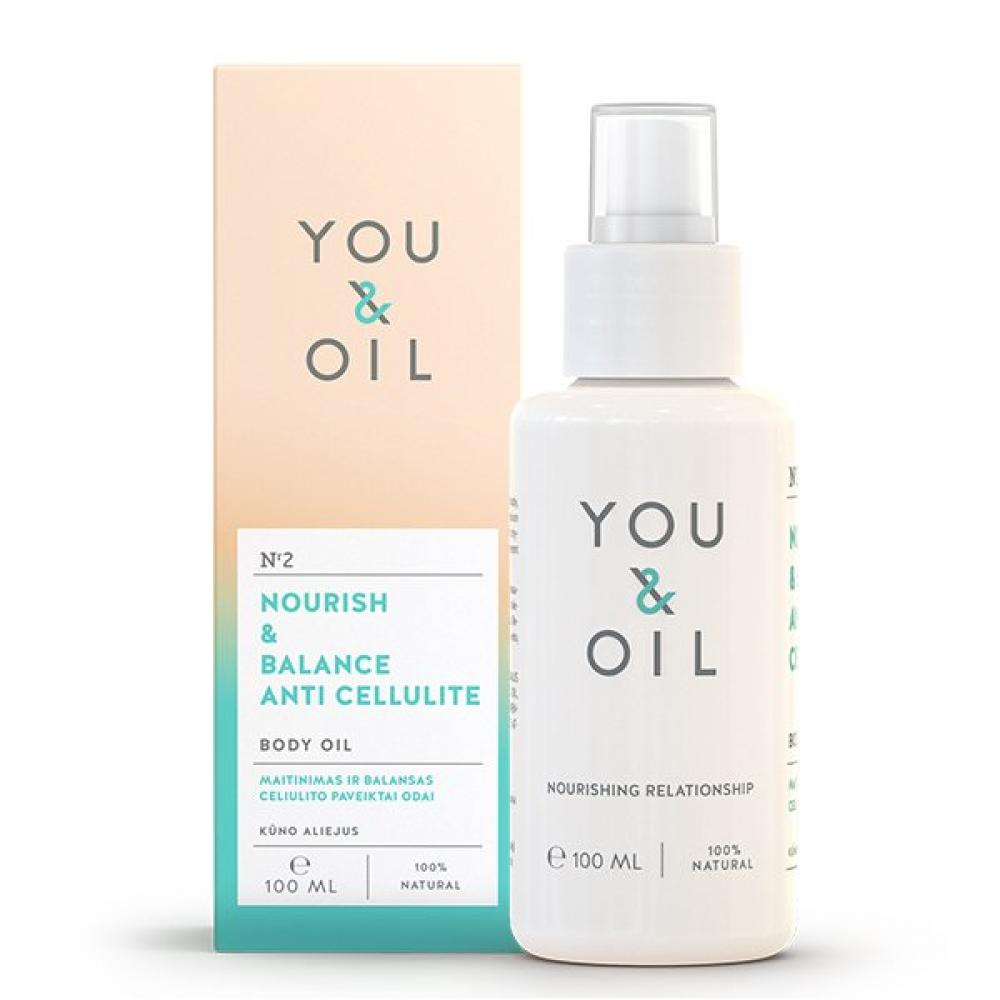 You And Oil Nourish and Balance Anti Cellulite Body Oil 100ml
