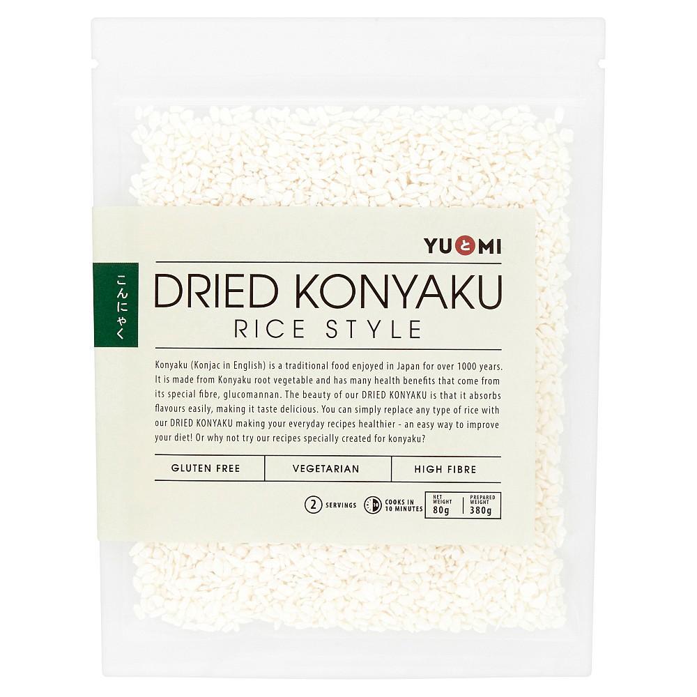 YuMi Dried Konyaku Rice Style 80g
