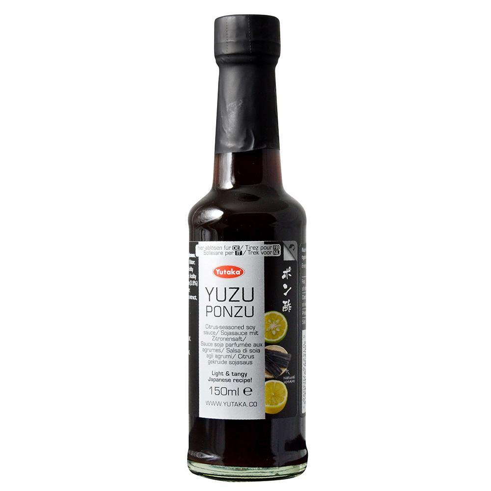 Yutaka Yuzu Ponzu Citrus-Seasoned Soy Sauce 150ml