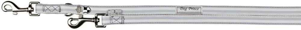 Trixie Softline Dog Prince Adjustable Leash Grey White 2 mm x 15 mm