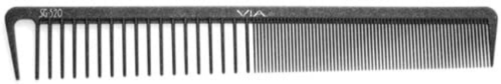 Via Silicone Graphite Reversible Low Tension Cutting Comb