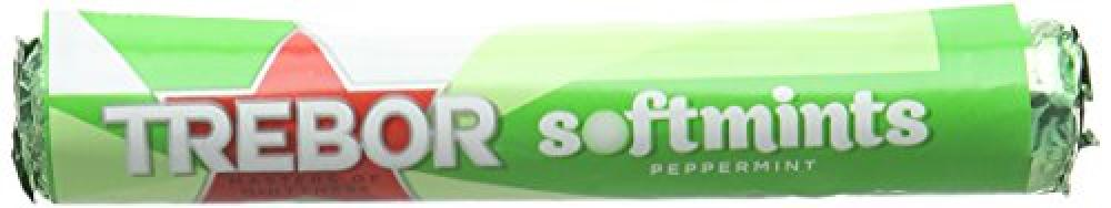 TODAY ONLY  Trebor Softmints Peppermint 45g