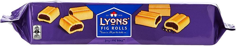 Lyons Fig Rolls 200g