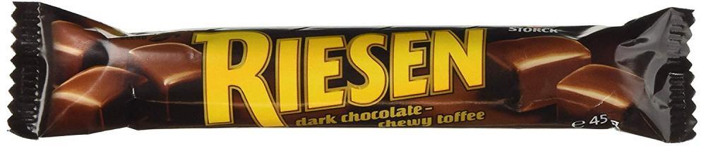 Riesen Dark Chocolate Chewy Toffee 45g