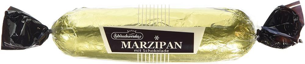 Schluckwerder Dark Chocolate Coated Marzipan 200g