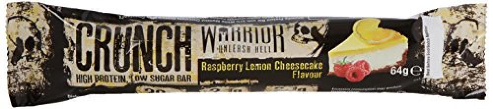Warrior Crunch High Protein Bar - Raspberry Lemon Cheesecake Flavour 64g