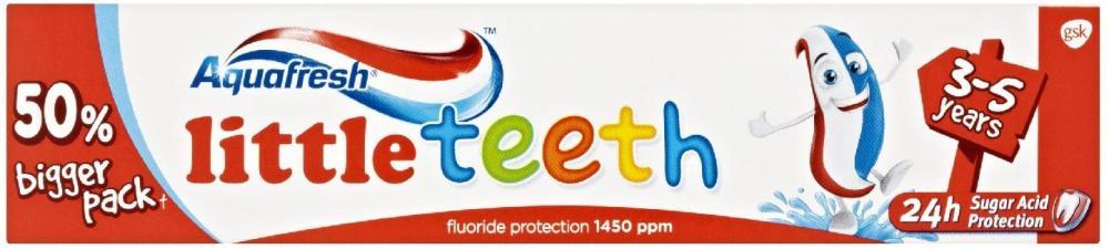 Aquafresh Baby Toothpaste Milk Teeth 3-5 Years 75 ml